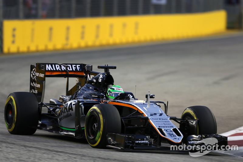 8º: Nico Hulkenberg, Sahara Force India