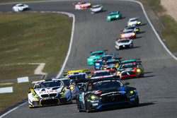 #14 AMG Team Black Falcon Mercdes-AMG GT3: Maro Engel, Adam Christodoulou, Manuel Metzger, Dirk Müll