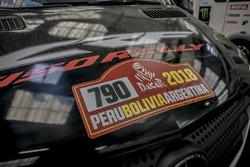Monster Energy Honda Team assistentiewagens