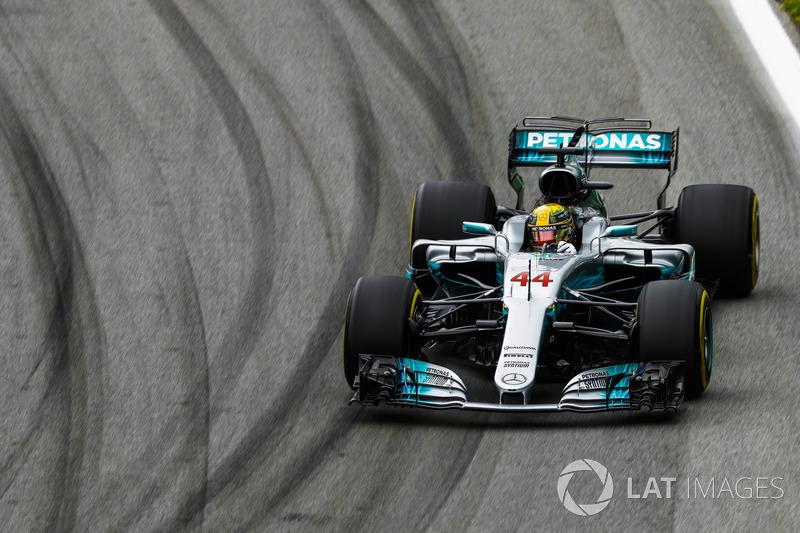 20. Lewis Hamilton, Mercedes AMG F1 W08