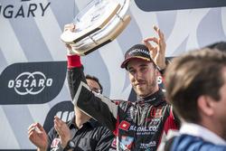 Podio: segundo lugar Esteban Guerrieri, ALL-INKL.COM Münnich Motorsport Honda Civic Type R TCR