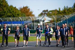 Circuitwandeling met Esteban Ocon, Force India