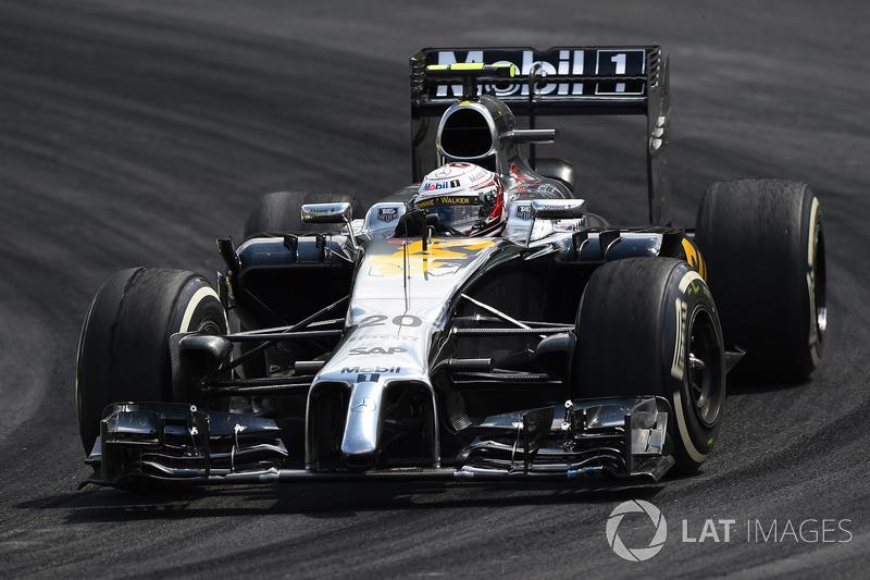 2014. McLaren MP4-29 Mercedes
