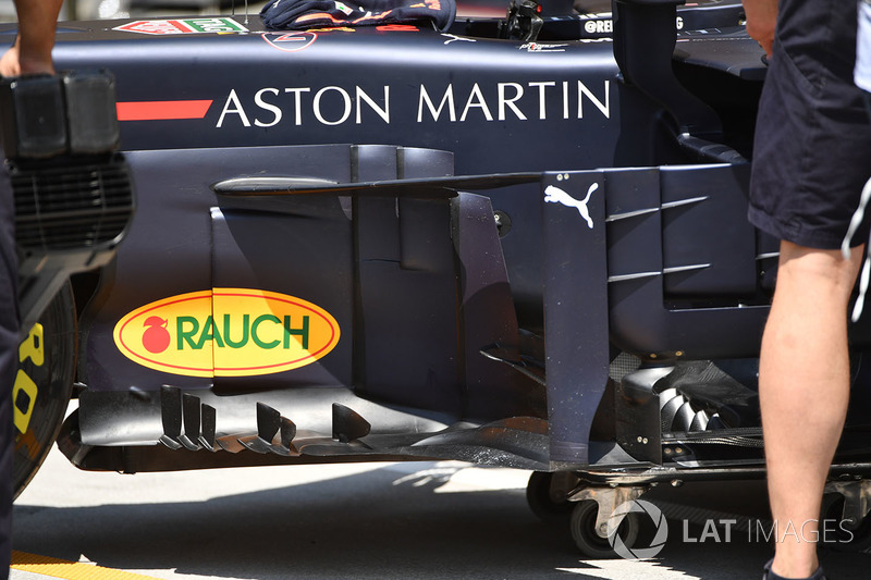 Bargeboards del Red Bull RB14