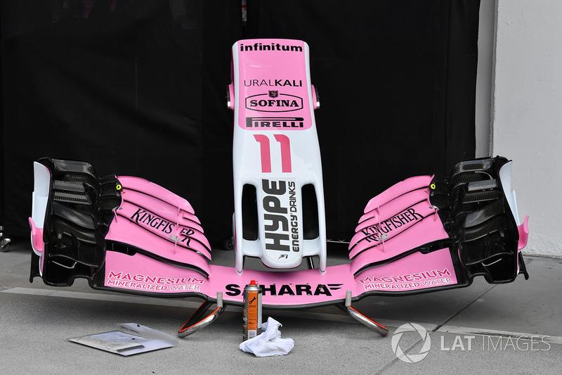 Sayap depan Force India VJM11