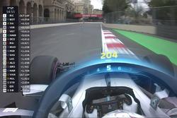 F1 Halo TV graphic, Mercedes F1
