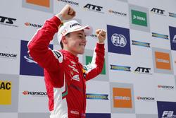 Podium: Race winner Marcus Armstrong, PREMA Theodore Racing Dallara F317 - Mercedes-Benz