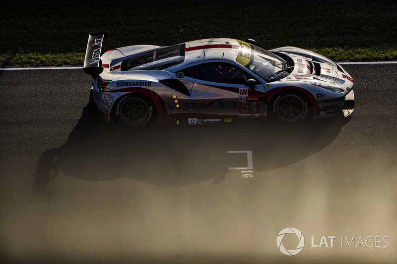 49: #54 Spirit of Race Ferrari 488 GTE: Thomas Flohr, Francesco Castellacci, Giancarlo Fisichella, 3'51.956