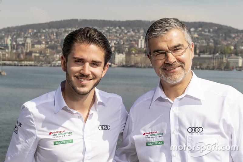 Daniel Abt, Audi Sport ABT Schaeffler, Dieter Gass, Capo del DTM Audi Sport