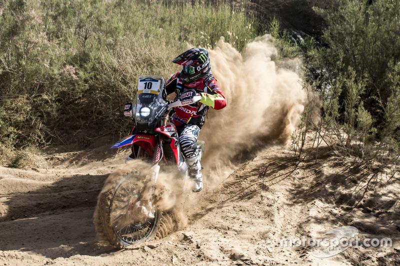 #10 Joan Barreda, Honda HRC