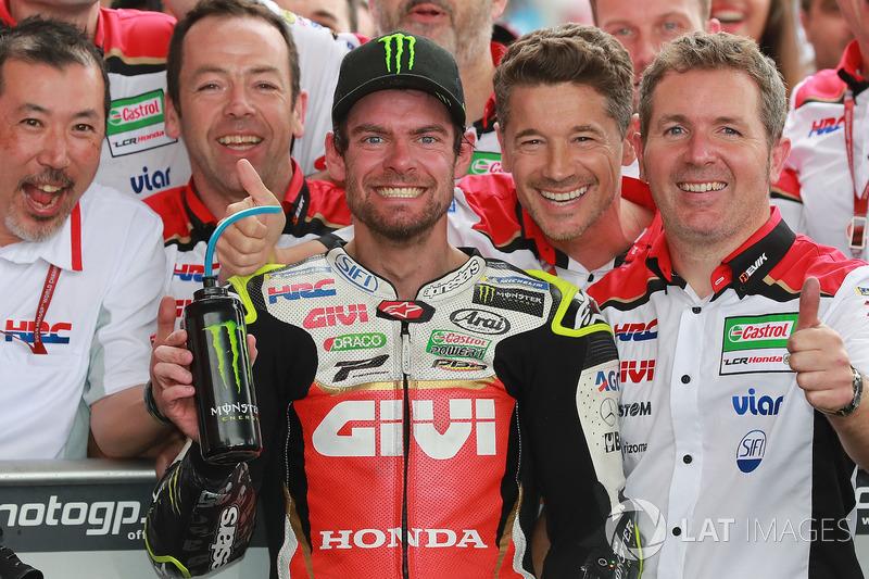 Juara balapan Cal Crutchlow, Team LCR Honda