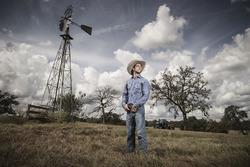 Daniel Ricciardo, Red Bull Racing, in una fattoria di Austin