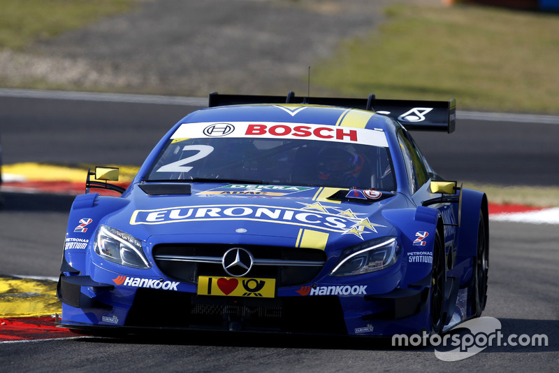 16. Gary Paffett, Mercedes-AMG Team ART, Mercedes-AMG C63 DTM