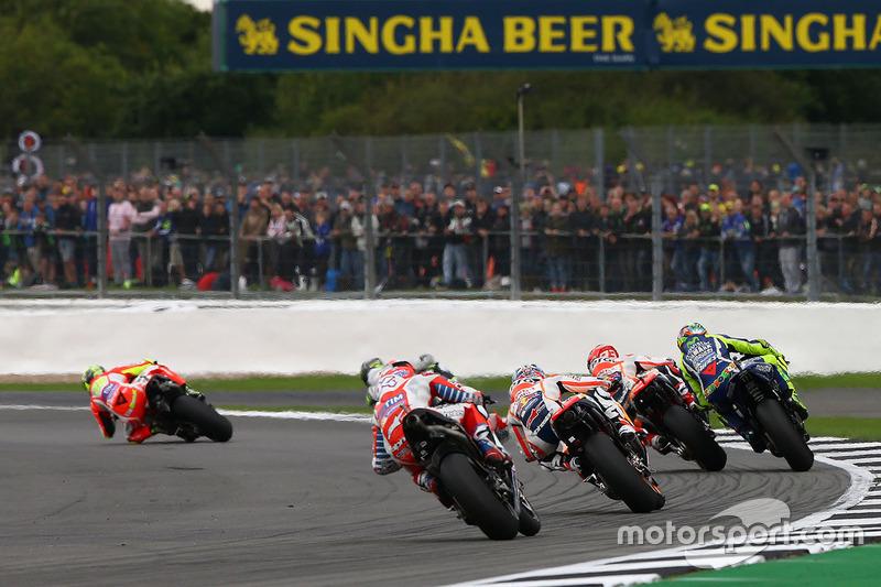 Valentino Rossi, Yamaha Factory Racing, Marc Marquez, Repsol Honda Team, Dani Pedrosa, Repsol Honda