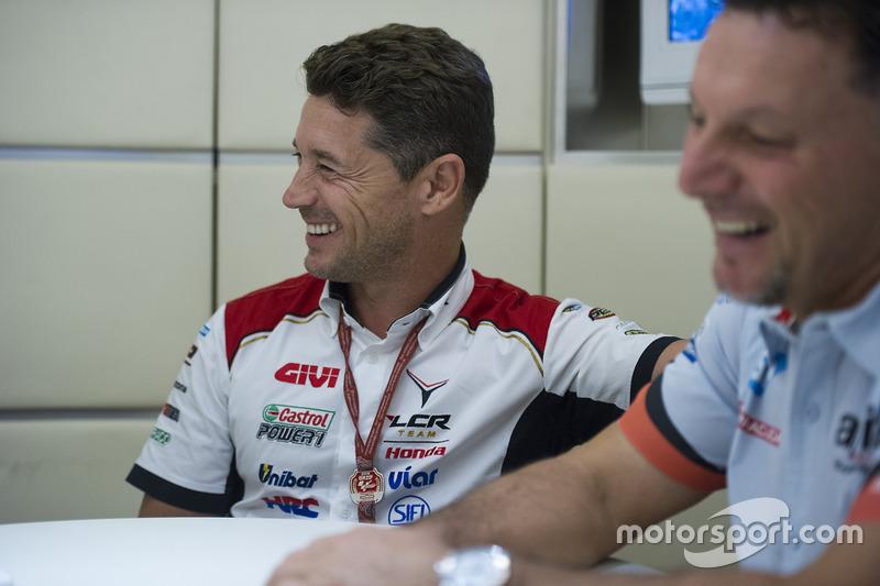 Lucio Cecchinello, Team LCR Honda Team Principal, Fausto Gresini, Aprilia Gresini Racing Team Team Principal