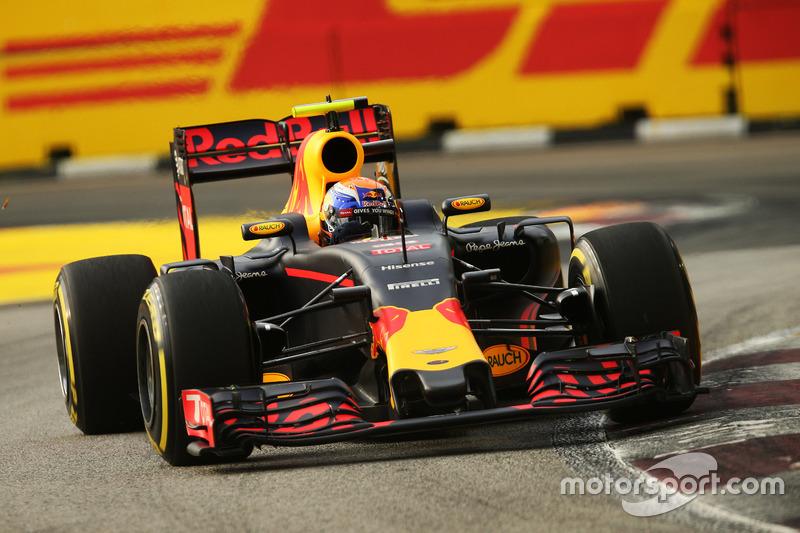 4º: Max Verstappen, Red Bull Racing RB12