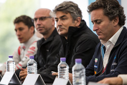 Conferenza stampa Dragon Racing e Faraday Future: Alejandro Agag - CEO, Formula E Holdings