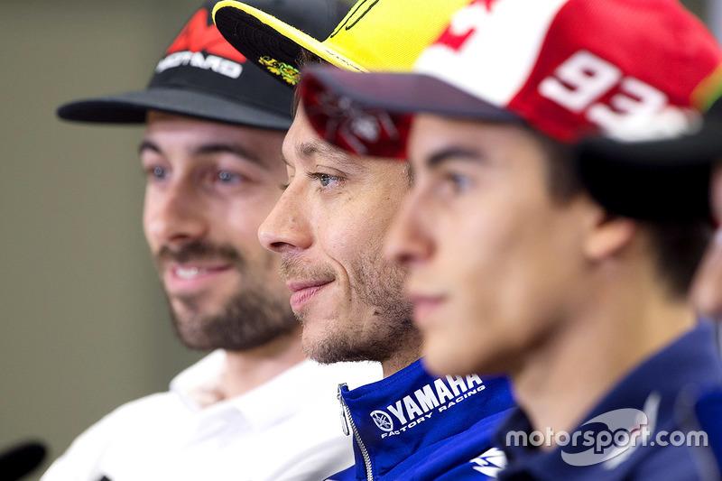 Eugene Laverty, Aspar Racing Team, Valentino Rossi, Yamaha Factory Racing, Marc Marquez, Repsol Hond