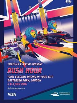 ePrix di Londra, poster