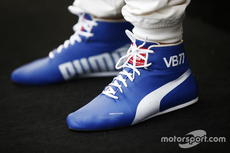 Schuhe von Valtteri Bottas, Mercedes AMG