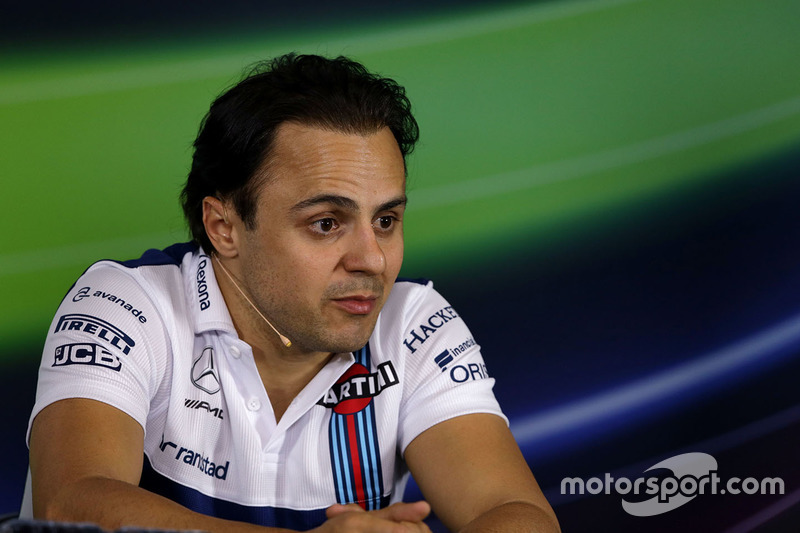 Pressekonferenz: Felipe Massa, Williams