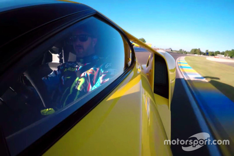 Ken Block Driving The  Ford Gt