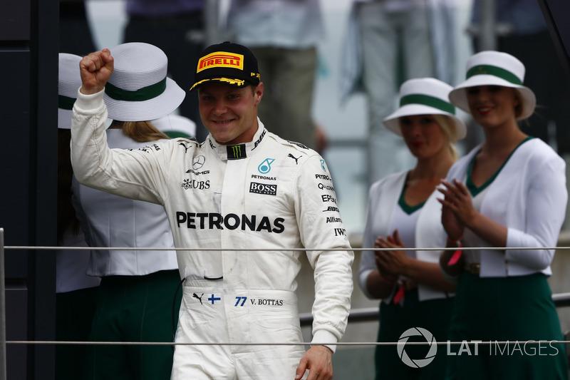 Segundo lugar Valtteri Bottas, Mercedes AMG F1