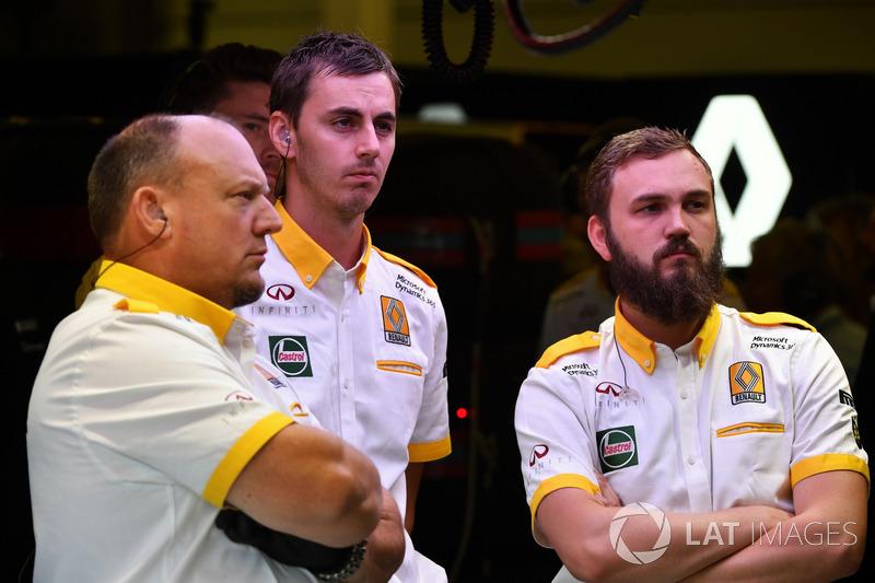 Mechaniker: Renault Sport F1 Team
