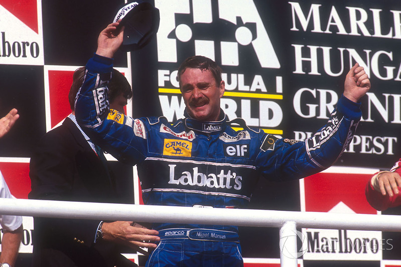 5 - Nigel Mansell (20 pistas)