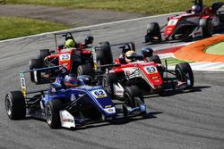 Ferdinand Habsburg, Carlin, Dallara F317 - Volkswagen, Callum Ilott, Prema Powerteam, Dallara F317 - Mercedes-Benz