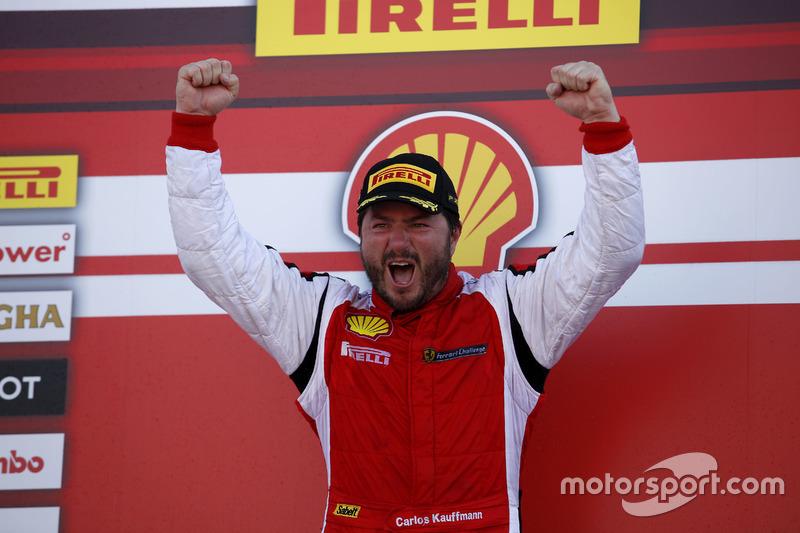 Ganador, Carlos Kauffmann, Ferrari de Fort Lauderdale