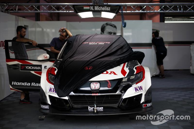 Das Auto von Norbert Michelisz, Honda Racing Team JAS, Honda Civic WTCC