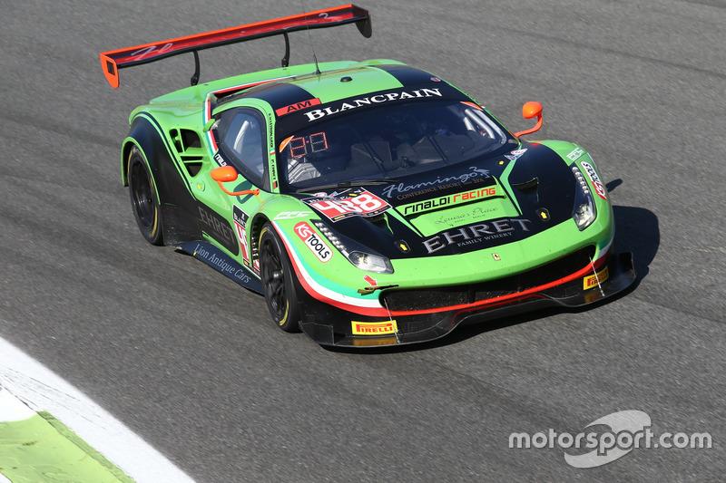 #488 Rinaldi Racing,  Ferrari 488 GT3: Pierre Ehret, Rino Mastronardi, Alexander Matschull