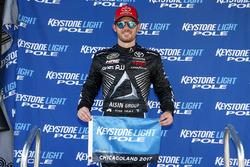 Polesitter Ryan Truex, Hattori Racing Enterprises Toyota