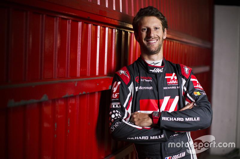 #8 罗曼•格罗斯让——哈斯F1车队