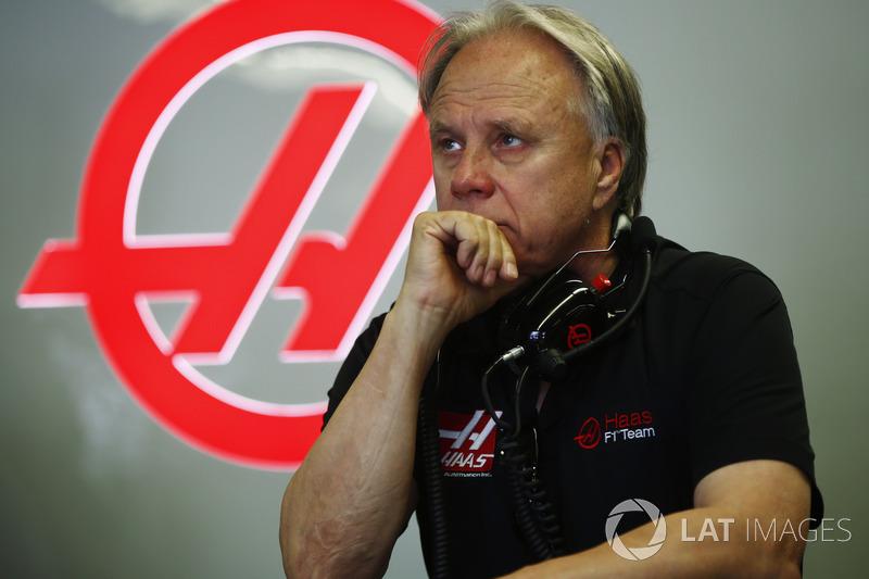 Equipo F1 de gene Haas, propietario y fundador de Haas F1 Team