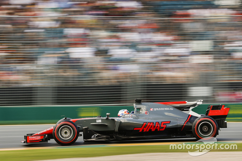 6. Romain Grosjean, Haas F1 Team VF-17