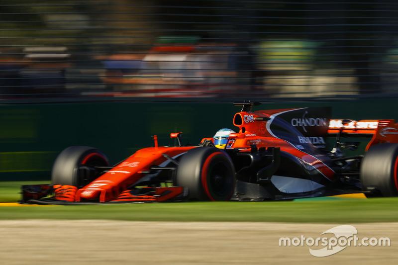 Verlierer: McLaren (mit Honda)