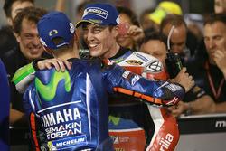 Maverick Viñales, Yamaha Factory Racing, Aleix Espargaro, Aprilia Racing Team Gresini