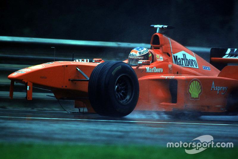 Michael Schumacher, Ferrari after the crash