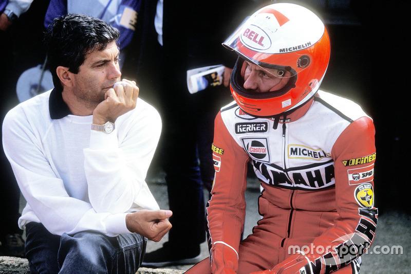 Giacomo Agostini and Eddie Lawson, Yamaha