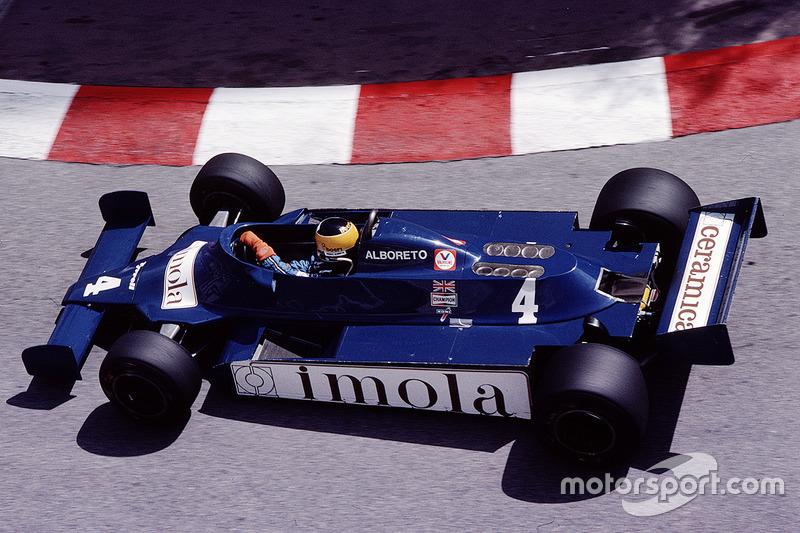 Michele Alboreto, Tyrrell Racing 010 Ford