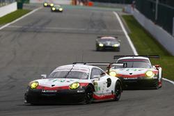 #92 Porsche Team Porsche 911 RSR: Michael Christensen, Kevin Estre, #91 Porsche Team Porsche 911 RSR: Richard Lietz, Frédéric Makowiecki