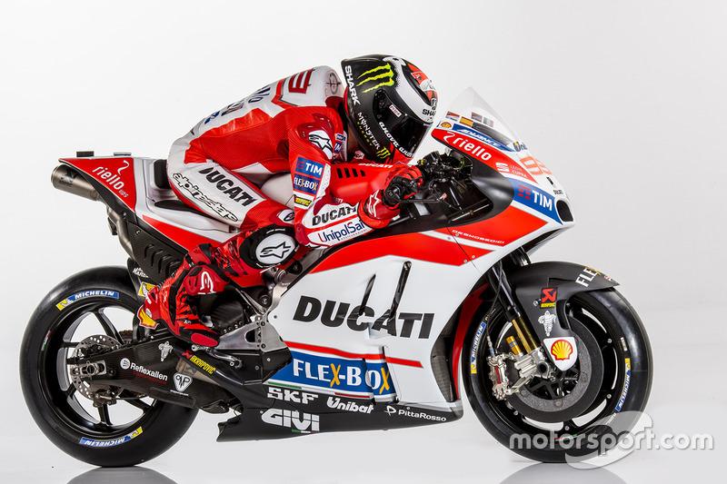 Jorge Lorenzo, Ducati Team 2017