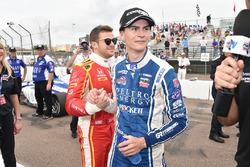 Race winner Colton Herta, Andretti Steinbrenner Racing, Marco Andretti