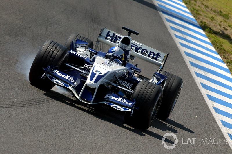 Сентябрь 2005: Себастьян Феттель. Тесты в Хересе с BMW Williams