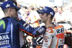 Yarış galibi Maverick Viñales, Yamaha Factory Racing, 3. Dani Pedrosa, Repsol Honda Team