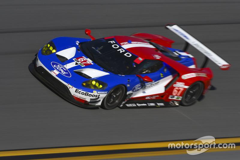 #67 Chip Ganassi Racing, Ford GT, Ryan Briscoe, Richard Westbrook, Scott Dixon