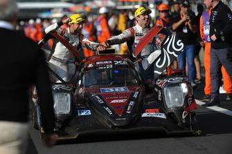 Ganadores LMP2 #38 Jackie Chan DC Racing Oreca 07 Gibson: Ho-Ping Tung, Gabriel Aubry, Stephane Richelmi