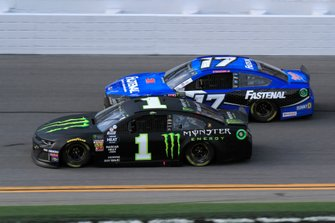 Kurt Busch, Chip Ganassi Racing, Chevrolet Camaro Monster Energy, Ricky Stenhouse Jr., Roush Fenway Racing, Ford Mustang Fastenal